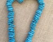 Turquoise Magnesite strand
