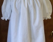 Pirate Wench Gypsy Renaissance Blouse Chemise Short Sleeve WHITE for Jamie only