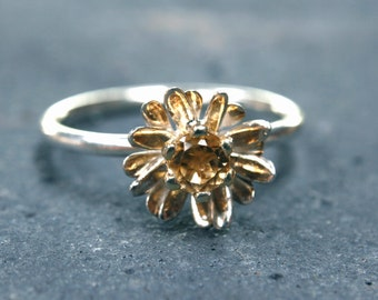 Daisy Stacking Ring