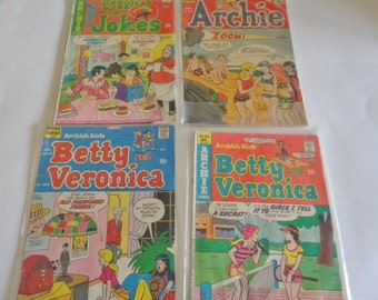 Archie Betty and Veronica Reggie Wise Guy Jokes Comic Books