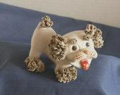 Lefton Spaghetti Dog - Ceramic - Collectible - Vintage