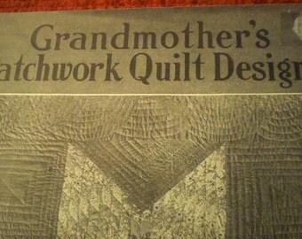 "W.L.M. Clark 1931 ""Grandmother's Patchwork Quilt Designs"" Booklet"
