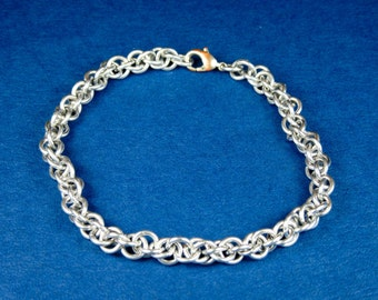 Aluminum Loose Jens Pind Weave Chainmaille Bracelet