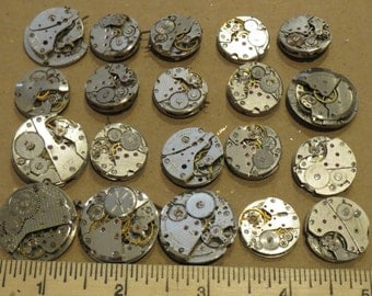 10 Round  ShAPe ViNTAGE WATCH Movements WHOLE Mechanical Whole Wrist Watch Variety Selection Old Style