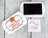 Ink Pad - PUMPKIN / RUST Color Box by Stephanie Barnard Dye Ink Pad, Dark Orange Ink, Crafting, Stamp Pad, Acid Free Ink, Raised Pad