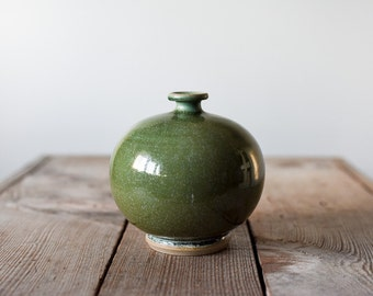 Vintage Pottery Vase, Studio Pottery, Bud Vase, Wheel Thrown Vase, Handmade Vase, Stoneware Vase, Home & Living, Hand Made Pottery