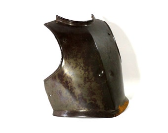 1600s English Armor Duplex Calvary Breastplate | Vintage War