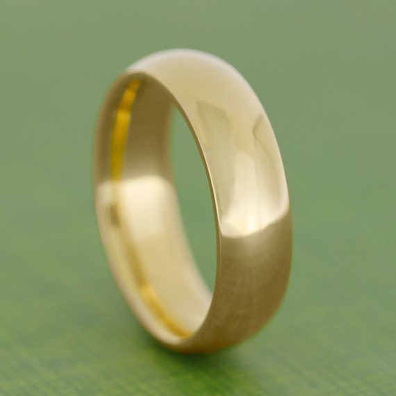 24k gold ring yellow gold wedding band solid by jewelrybyjohan for 24k gold wedding ring