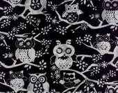 Clearance Sale - Pewter Owls Batik - M2737-76