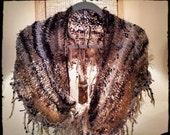 Shawl Knitted Scarf