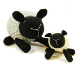 NEW Loretta the Laid Back Lamb Knitting Pattern Pdf INSTANT DOWNLOAD