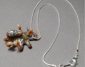 Octopus Jewelry Necklace Pendant