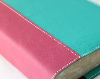 Bible Cover - Custom made in colors that you choose, sized to fit your bible
