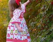 Knot Dress Merry Matryoshka Dolls Available sizes: 12 months - 6  Handcrafted by Valeriya