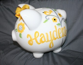 Safari Piggy Bank Etsy