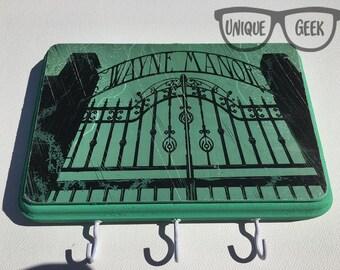 Batman Wayne Manor Plaque with Hooks