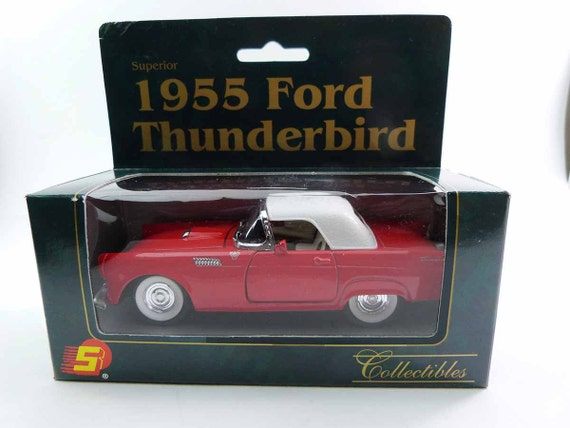 fast moving sup rieure 1955 ford thunderbird die cast 01 34. Black Bedroom Furniture Sets. Home Design Ideas