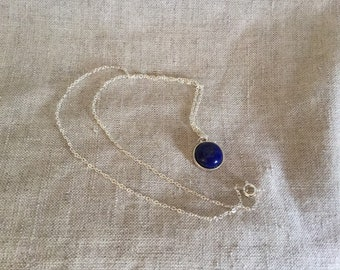 Lapis lazuli Necklace, gemstone, bridal jewelry