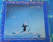 1992 A Wish For Wings That Work A Opus Christmas Story SC Scholastic Book