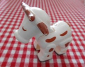 Vinage Fisher Price Cow Toy Figure