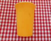 Vintage Tupperware Yellow Cup