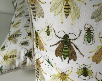 Insecta Decorative Throw Pillow and Insert