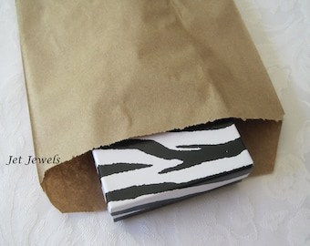 100 Paper Bags, Gift Bags, Candy Bags, Brown Paper Bags, Kraft Bags, Merchandise Bags, Retail Bags, 6x9