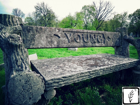 """Forever Young,"" Crown Hill Cemetery, Indianapolis, Indiana, 2013."