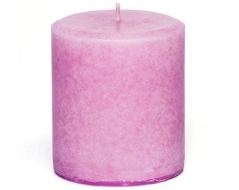 Handmade Jasmine Scented Pillar Candle