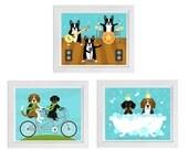 Custom Print Set for Stephanie - Set of 3 Prints