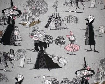 The Ghastlies in Smoke - By Alexander Henry 100% Quilters Cotton