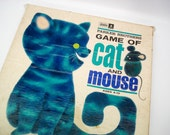 Cat & Mouse - Vintage board game - 1971 - complete - very good condition