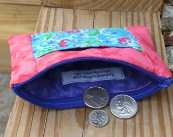Coin & Card Purse - Seahorses