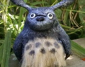 Totoro With Real Fur My Neighbor Totoro Miyazaki Studio Ghibli Anime