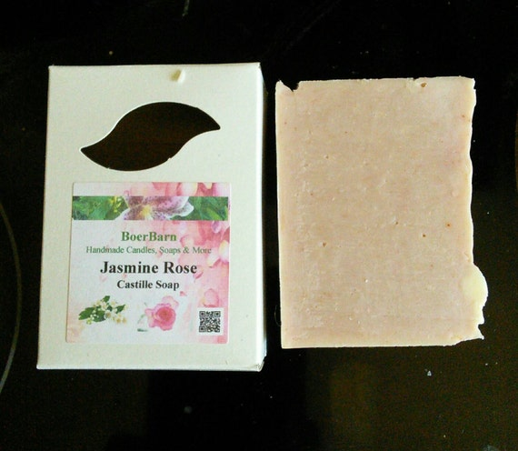 Jasmine Rose Olive Oil Castille Soap