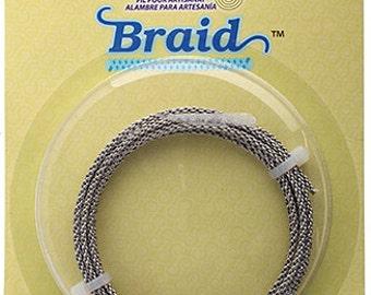 BRAID Artistic Wire 12 Gauge Lead/Nickel Safe-Stainless Steel 5 Feet