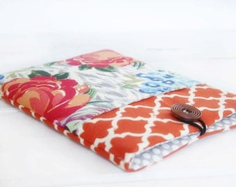 Gadget Cases and Covers made to FIT ANY BRAND Reader, Kindle Case, Kindle Paperwhite Case, Nook Glo Case in Rosy Posey