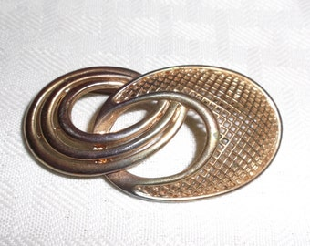 1930s Vintage Modernist Abstract Brooch