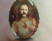 St. Lemmy of Rock n Roll adjustable ring