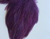 FEATHER PAD  Dark Purple, Eggplant  /   104