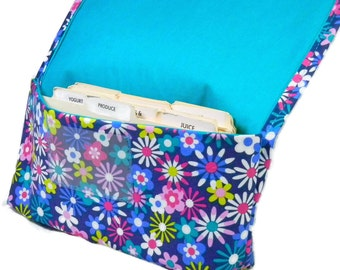 Coupon Organizer, Coupon Holder, Budget Wallet, Receipt Holder Happy Florals