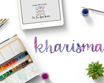 Kharisma Hand Drawn Font by OTSS