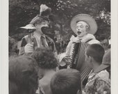 Clowns-1950's Original 8x10 Photograph