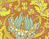 Rowan Amy Butler Soul Blossoms Temple Tulips in Cinnamon - Half Yard