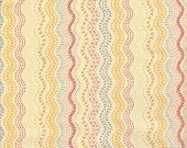 Moda Fabrics Ladies Stitching Club Wavy Stitched Stripe - Half Yard