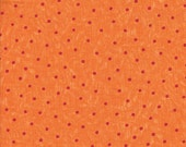 Moda Fabrics Love U Dot in Orange - Half Yard