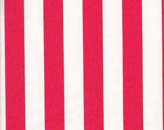 Dear Stella Designs All Hands on Deck Cabana Stripe in Red - Half Yard