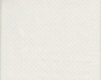 Riley Blake Le Creme Dots in Cream - Half Yard