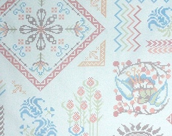Free Spirit Fabrics Anna Maria Horner Loulouthi Needleworks Visions in Spa - Half Yard