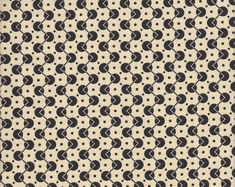 Free Spirit Fabrics Denyse Schmidt Chicopee Voltage Dot in Black - Half Yard